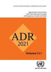 ADR 2021 MERCANCIAS PELIGROSAS POR CARRETERA